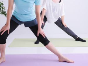 膝痛ストレッチのイメージ
